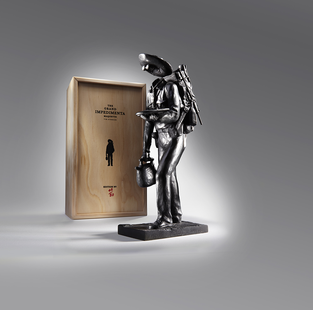 Tim Storrier - The Impedimenta Collection (Sculpture & Box Photograph)
