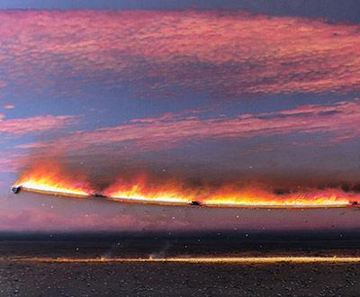 The blaze line – dusk