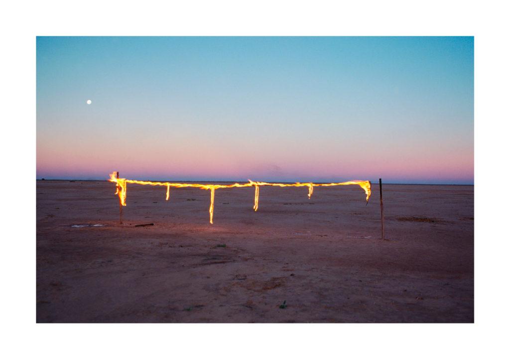Artwork Image: Australian Art | Insights | Tim Storrier's Fire Lines: Origins | Artwork - Photography - Night Passage 1981
