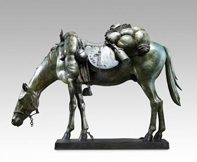 Equine Impedimenta (Tully's baggage) Maquette